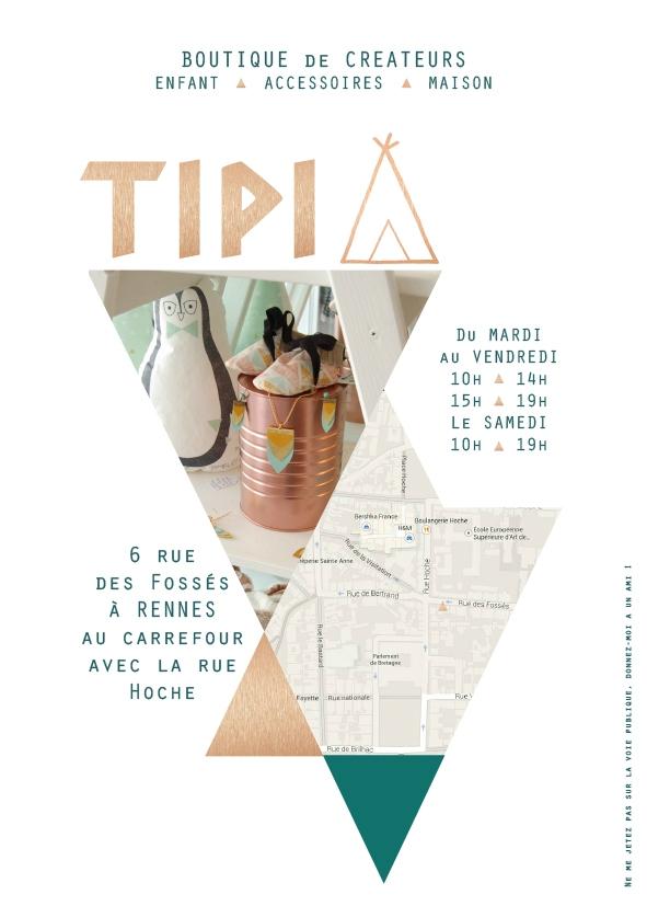 Tipi, boutique de créateurs - Rennes